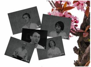 Portraits des 5 élèves-témoins