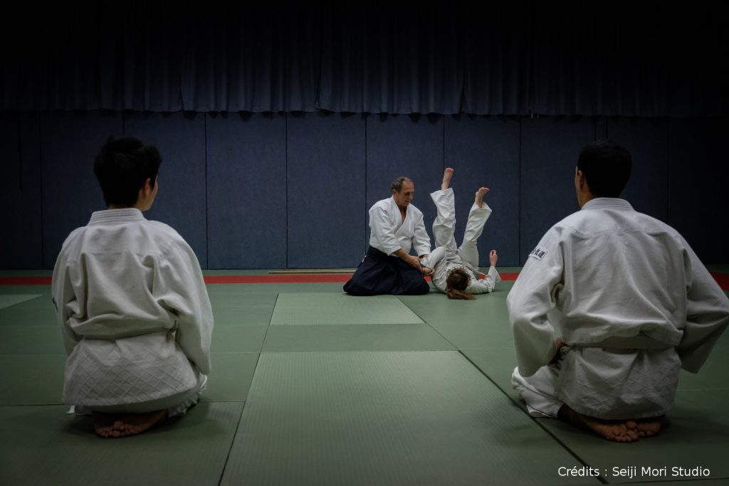 Cours d'aïkido