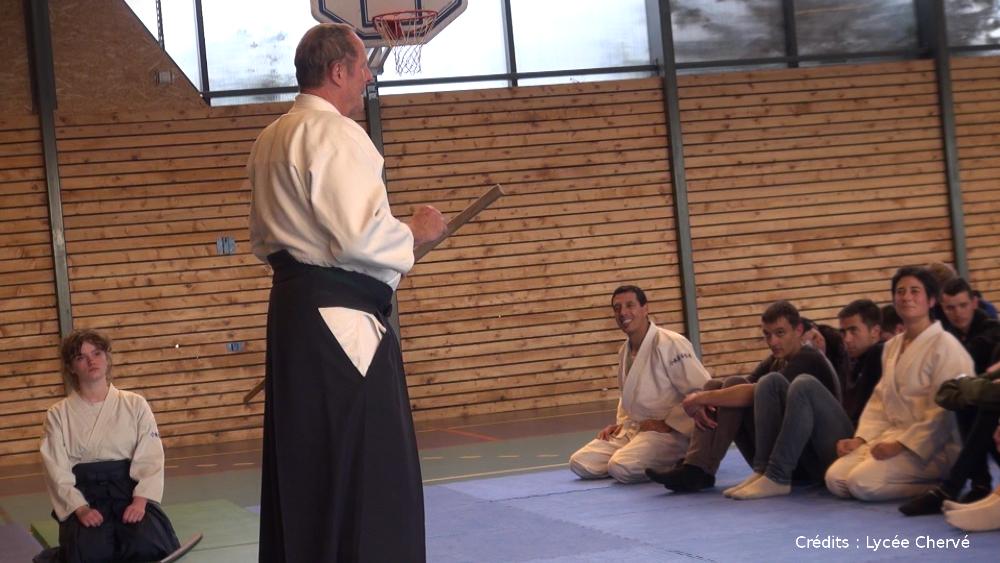 Initiation à l'aïkido au lycée