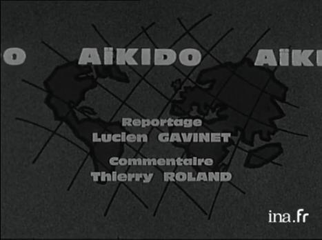 Générique du 1er reportage sur l'aïkido en France (1964)