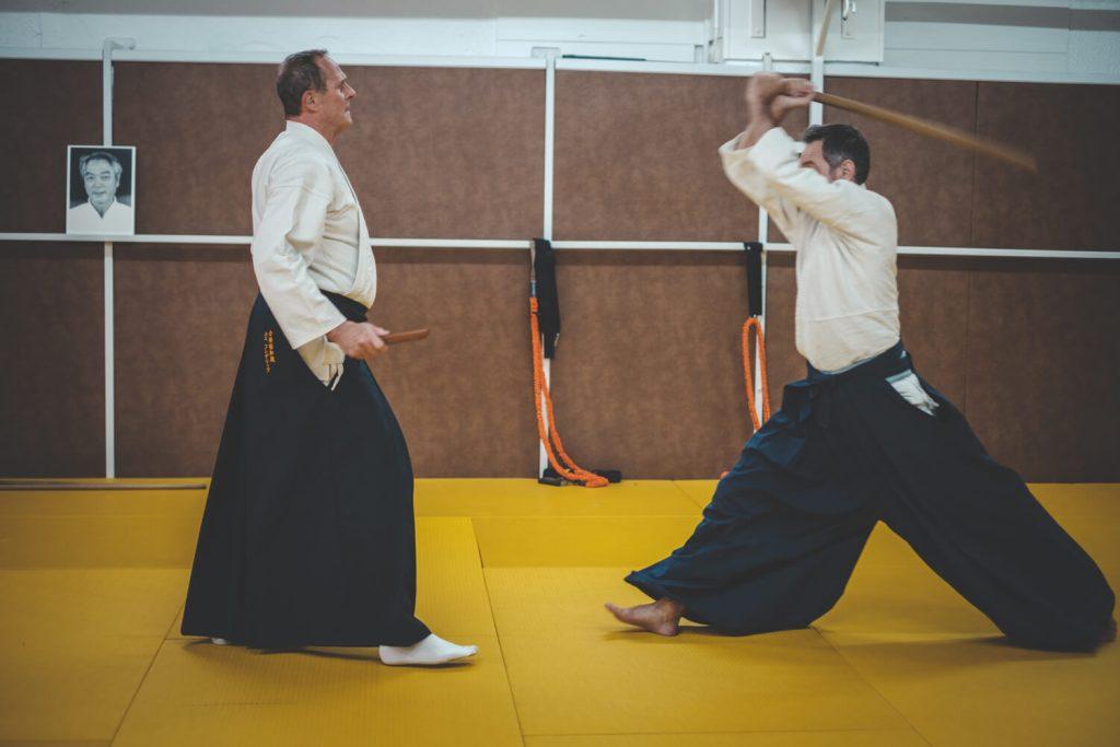 Démonstration d'Aikido
